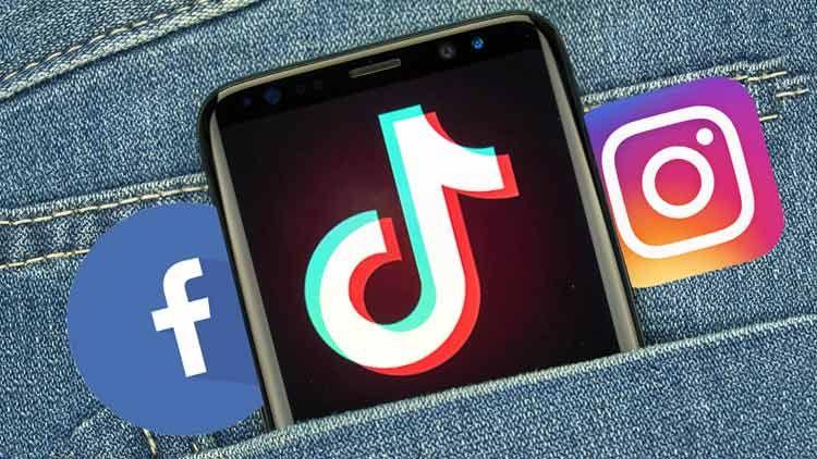 Tiktok Surpasses Facebook Instagram In App Downloads Social Networking Apps Download App Social App