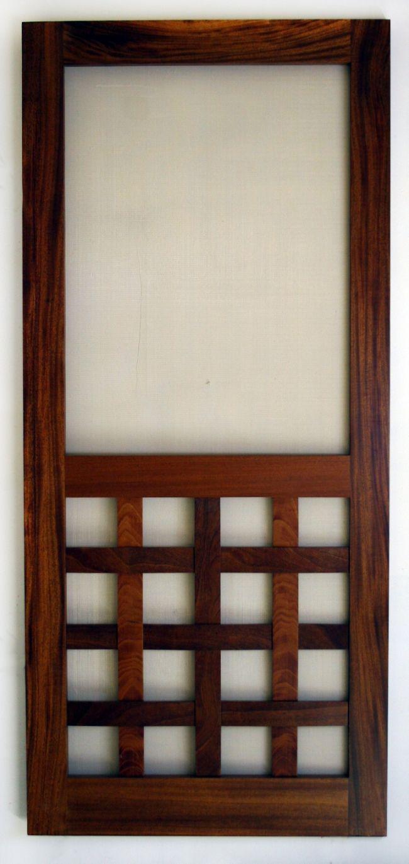 How To Build A Screen Door | Easy DIY Projects | Pinterest ...