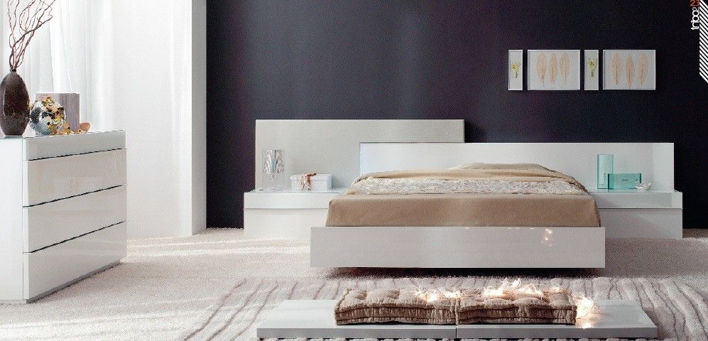 Guardia GRANADA Contemporary Bed | Floating Beds | Contemporary ...