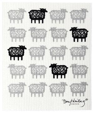Swedish Dishcloth Sheep Modern Dish Towels By Trendy Tripper Dish Cloths Klippan Sheep