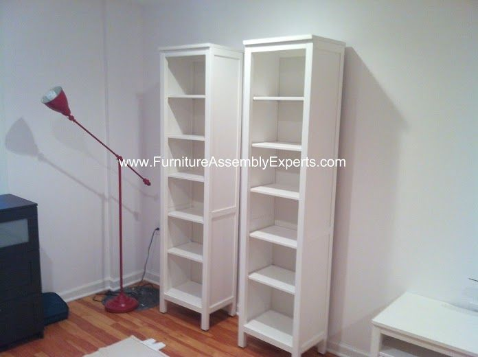 Ikea hemnes bookcase assembled in vienna by furniture for Will ikea assemble furniture