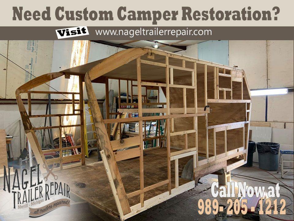 Camper Restoration! in 2020 Custom campers, Restoration