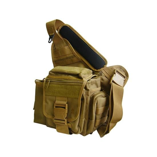 UTG Multi-functional Tactical Messenger Bag, Dark Earth