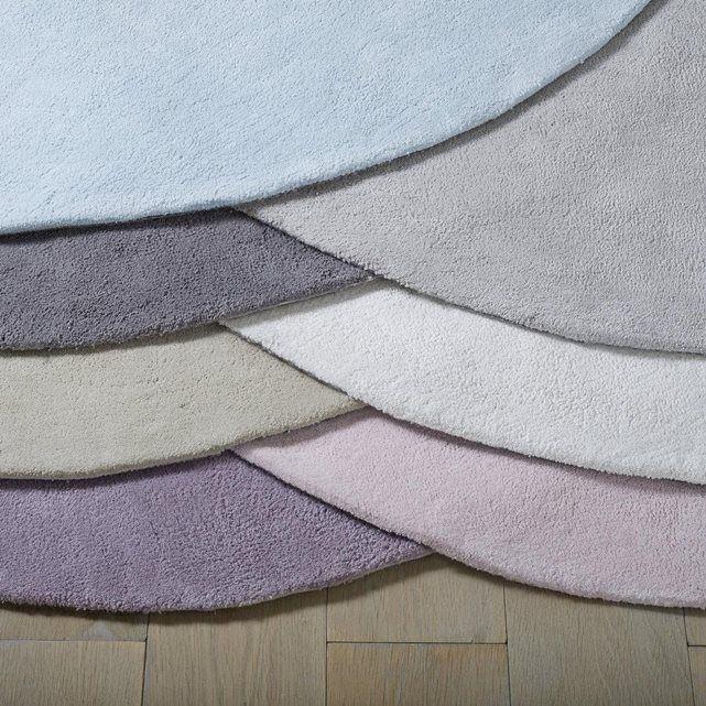 tapis rond coton tuft renzo la redoute interieurs la. Black Bedroom Furniture Sets. Home Design Ideas