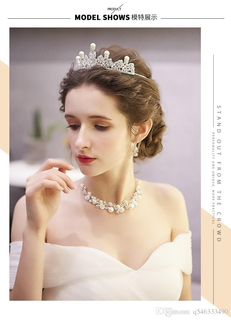 Wedding Hairstyle Crown Tiara Romantic Wedding Hair Wedding Hair Head Piece Wedding Hair Inspiration