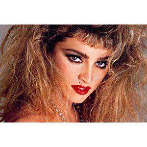 makeup history 1980's. girls