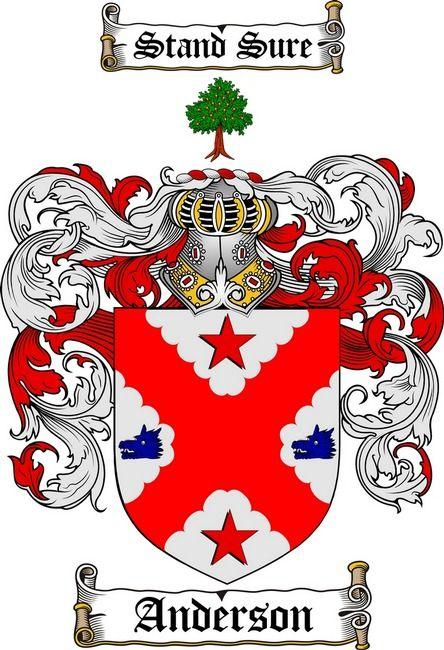 Emblema De La Familia Anderson Familiewapens Pinterest