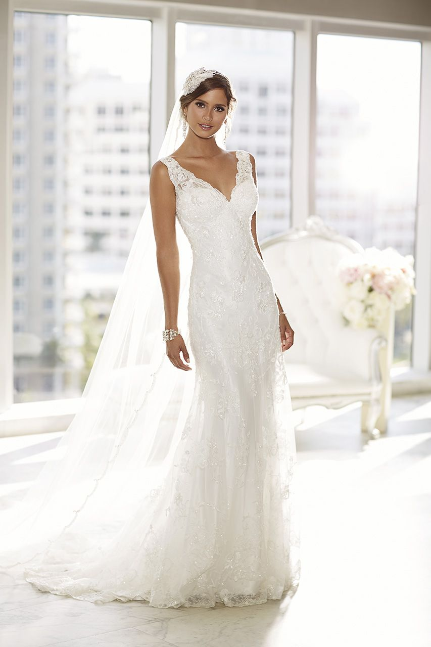 Pin By Wieslawa Misiara On Bridal Gowns Wedding Dresses Essense Of Australia Wedding Dresses Satin Wedding Gown