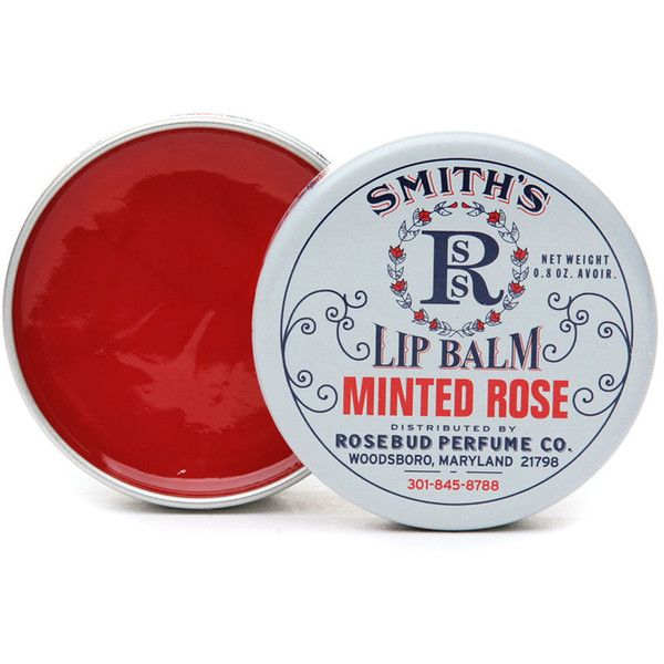 Rosebud Perfume Co. - Smiths Lip Balm Minted Rose - 0.8 oz. Restorative Facial Cream with Shea Butter Sisley 1.4 oz Cream Unisex