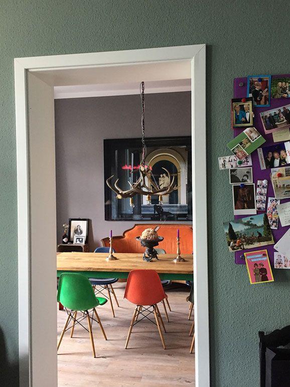 Küche in Bitter und Zart no 150 #annavonmangoldt #kreidefarbe - wandfarben fr esszimmer