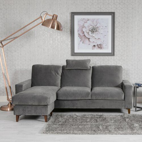 Bianca Corner Sofa Corrigan Studio Upholstery Colour Grey In 2020 Corner Sofa Sofa Interior Design