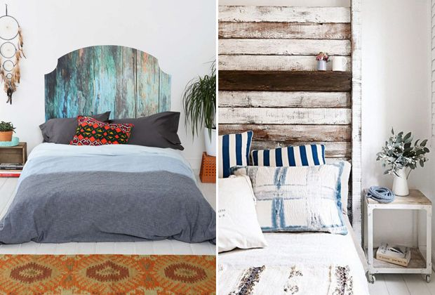eight unique headboard ideas transform your bedroom diy projects ...