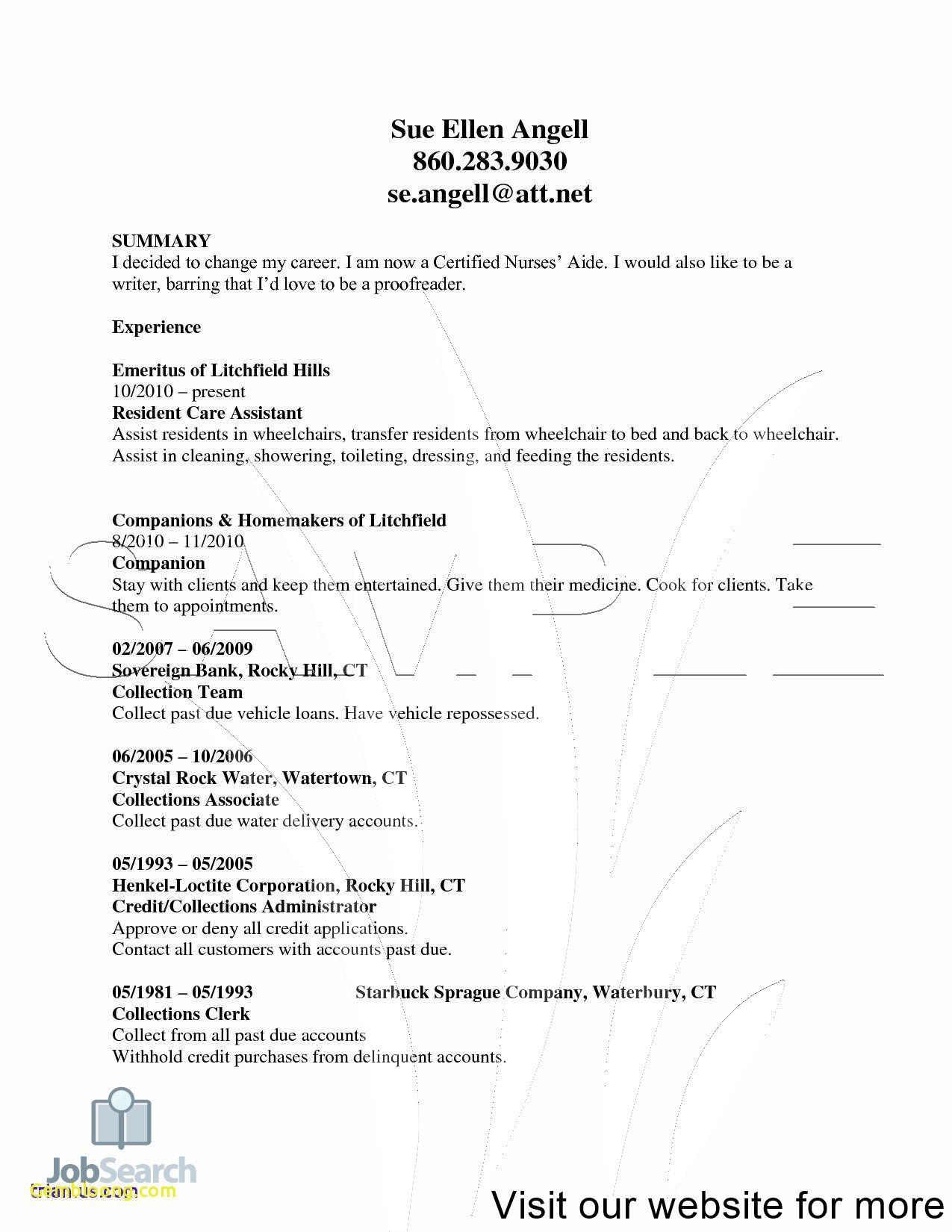 clean resume template free in 2020 Nursing resume