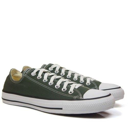 converse verde oliva