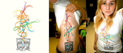 Threadless tattoos = amazing.