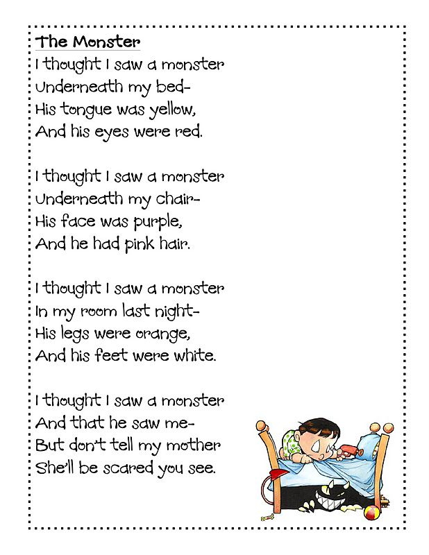 halloween poems for kids google search