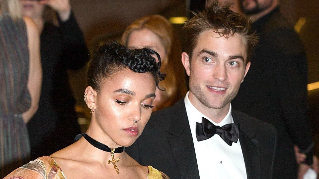 Robert pattinson gets support from fka twigs at cannes see the pics
