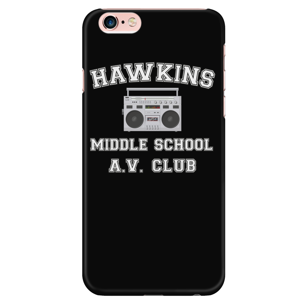 Stranger Hawkins Middle School Smart Phone Case for Women Men Kids Things A V Club 1