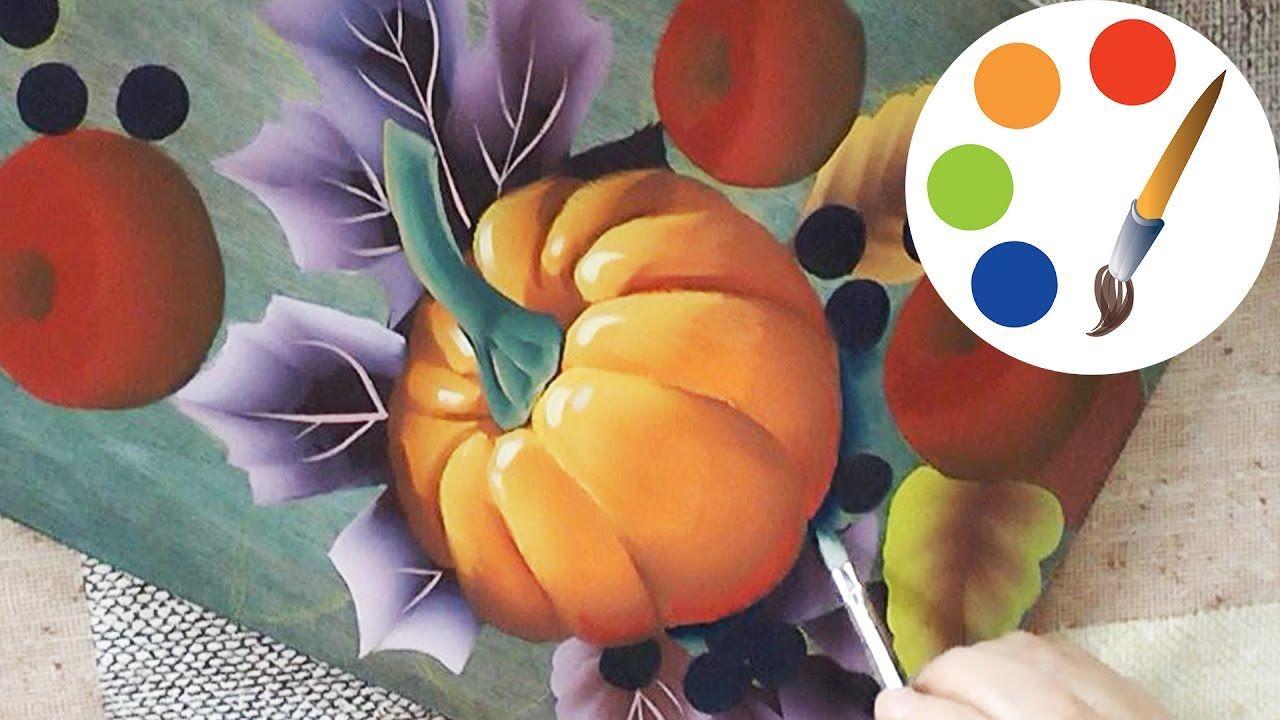 DIY Pumpkin Painting , How to Paint a Pumpkin, irishkalia