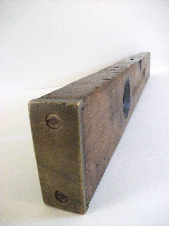 Vintage Wood Stanley Level Spirit Levels Vintage Wood Vintage