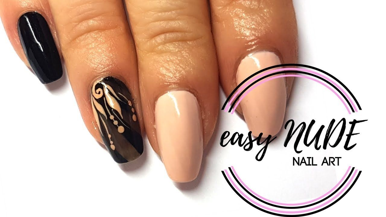 Easy Elegant Nails Ale Nail Art Youtube Pinterest