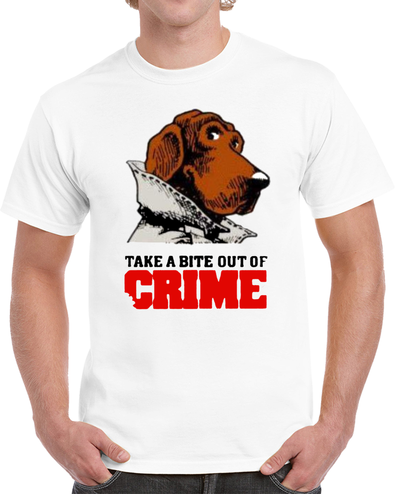 Cool 80's McGruff The Crime Dog Take a Bite out of Crime