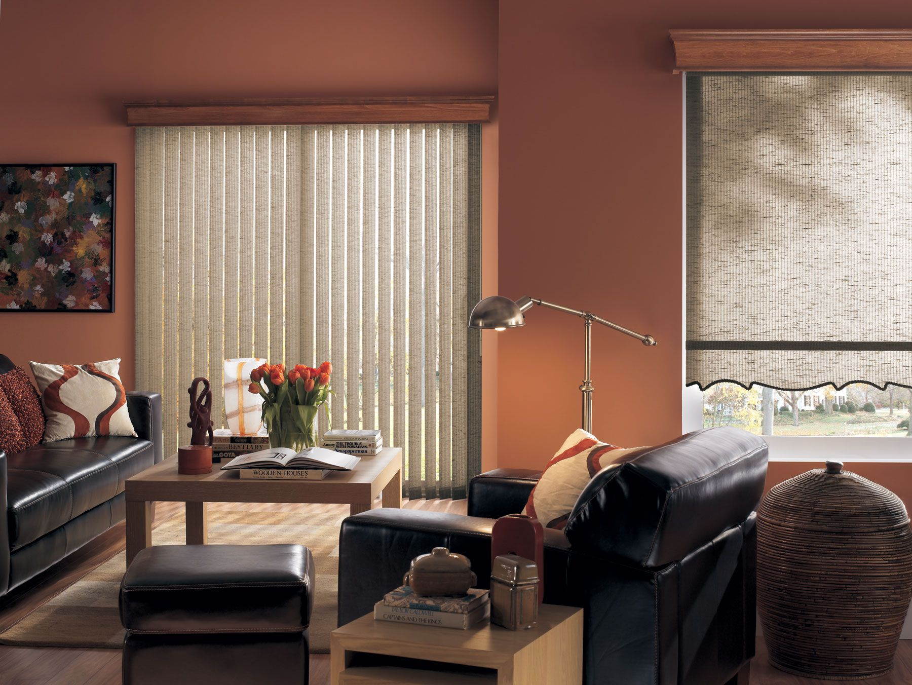 blinds orange curtains red trends designs marvelous shades sxs of roman uncategorized with target burnt styles at and