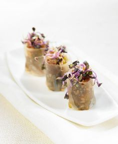 Canelón de pato y cacahuetes | Delicooks | Good Food Good Life
