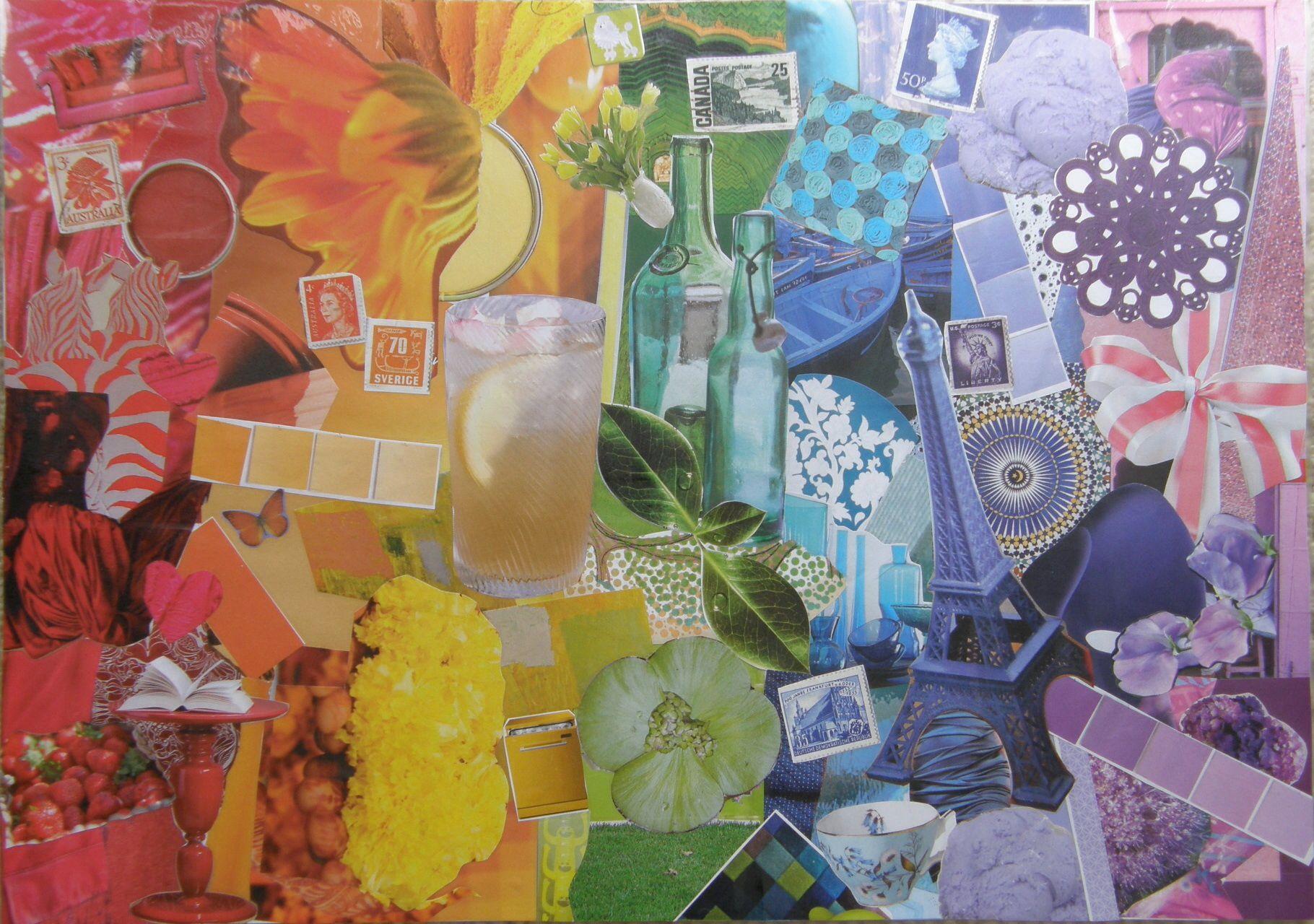 Colour Spectrum Magazine Collage