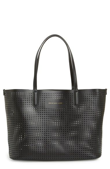 3d0eb514697b MARC BY MARC JACOBS  Metropolitote 48  Perforated Leather Tote available at   Nordstrom