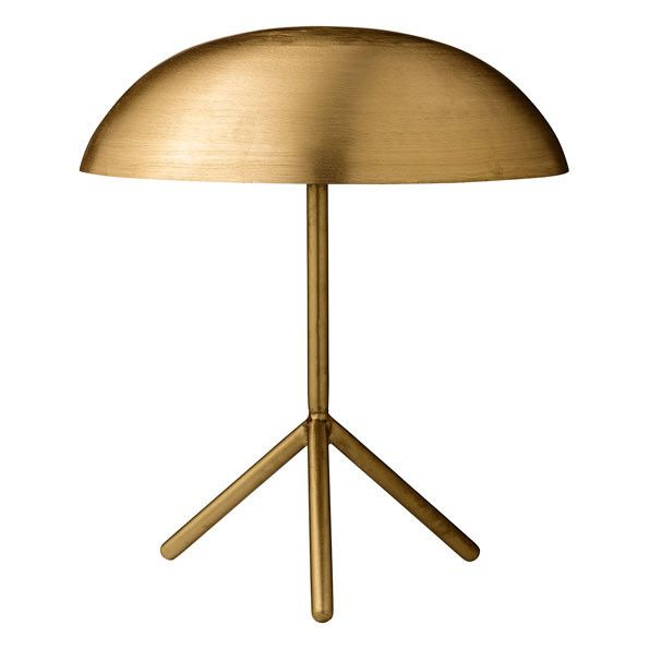 Brushed Gold Tripod Table Lamp Holly S House Tripod Table Lamp Unusual Table Lamps Table Lamp