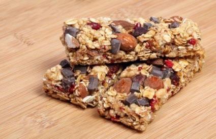 Organic Chocolate Chip Granola Bar Recipe with Honey