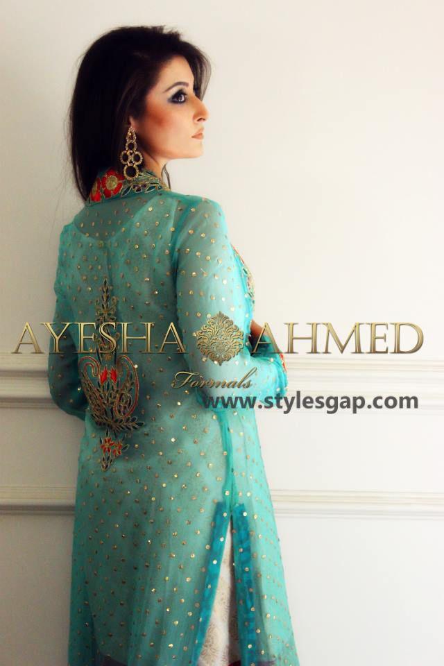 Dress style 2018 pakistani ayesha