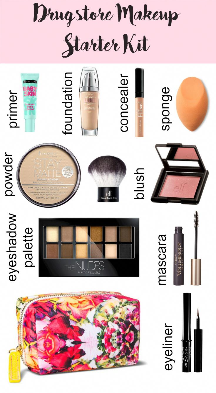 Drugstore Makeup Starter Kit texasweettea #makeuptips