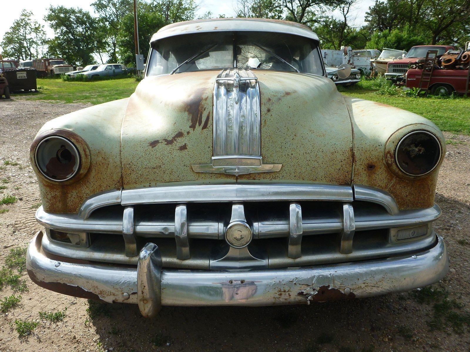 1950 Pontiac Silver Streak 2 Door Rat Rod Project Parts Car Gas Mon ...