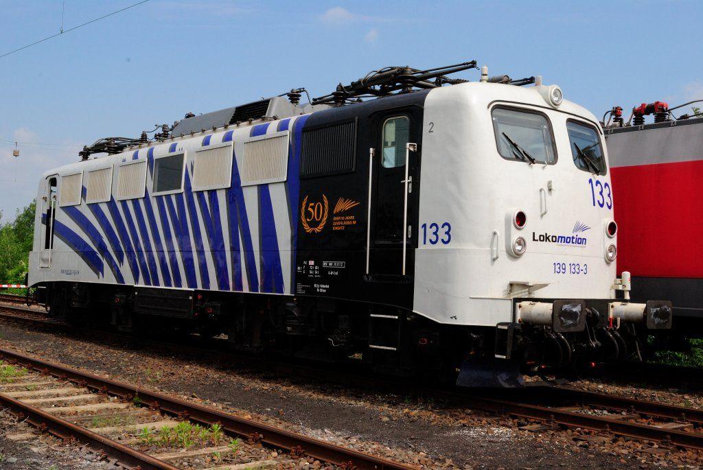 BR 139 133  Lokomotion 50 Jahre im Einsatz