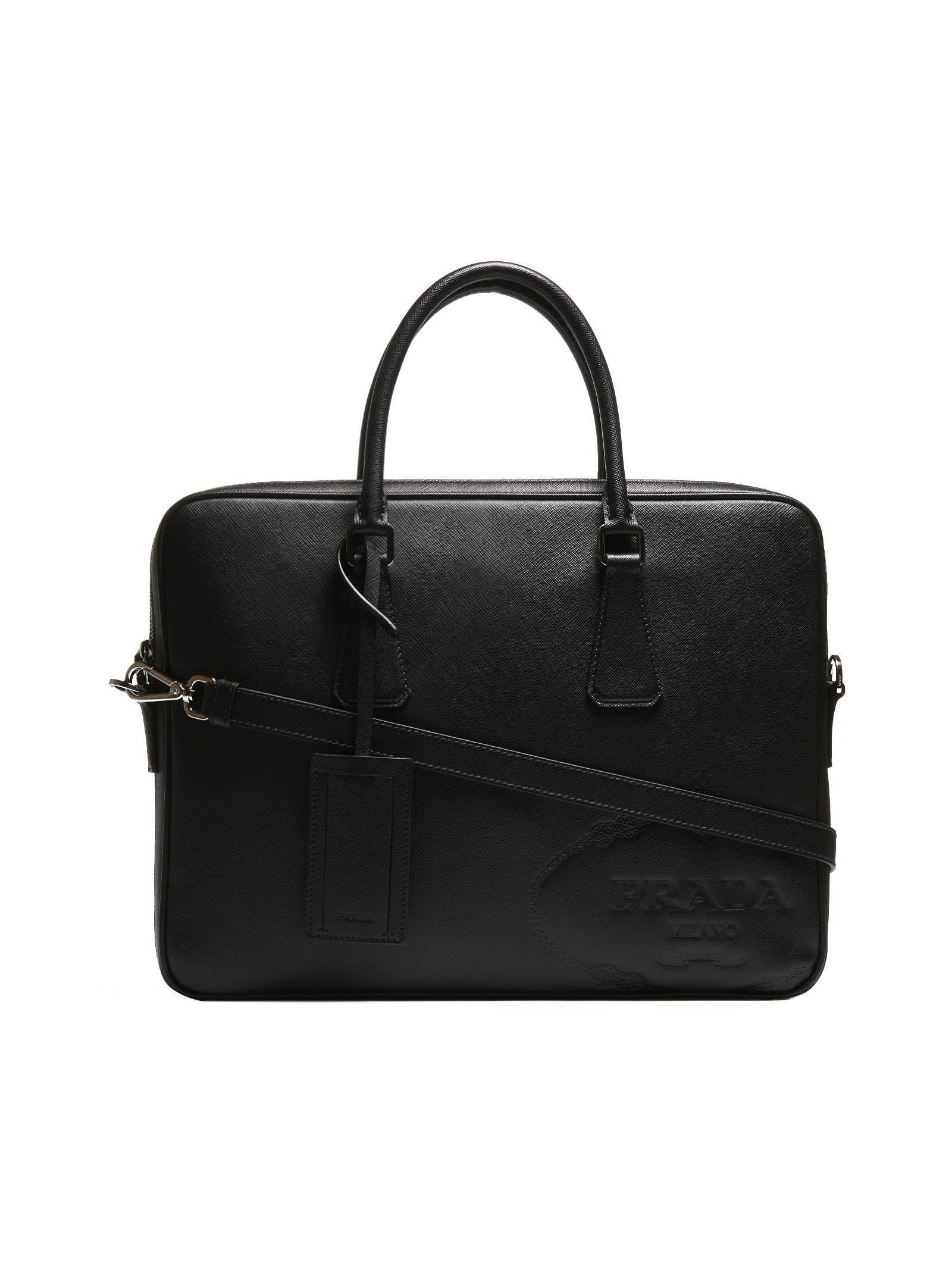 749b3a43cc23 PRADA EMBOSSED LOGO TOTE.  prada  bags  shoulder bags  hand bags  tote