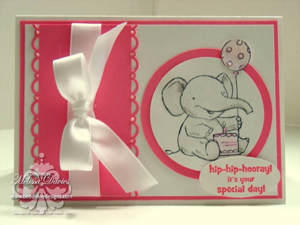 1st Birthday All Stampin Up All Other Card Ideas Pinterest