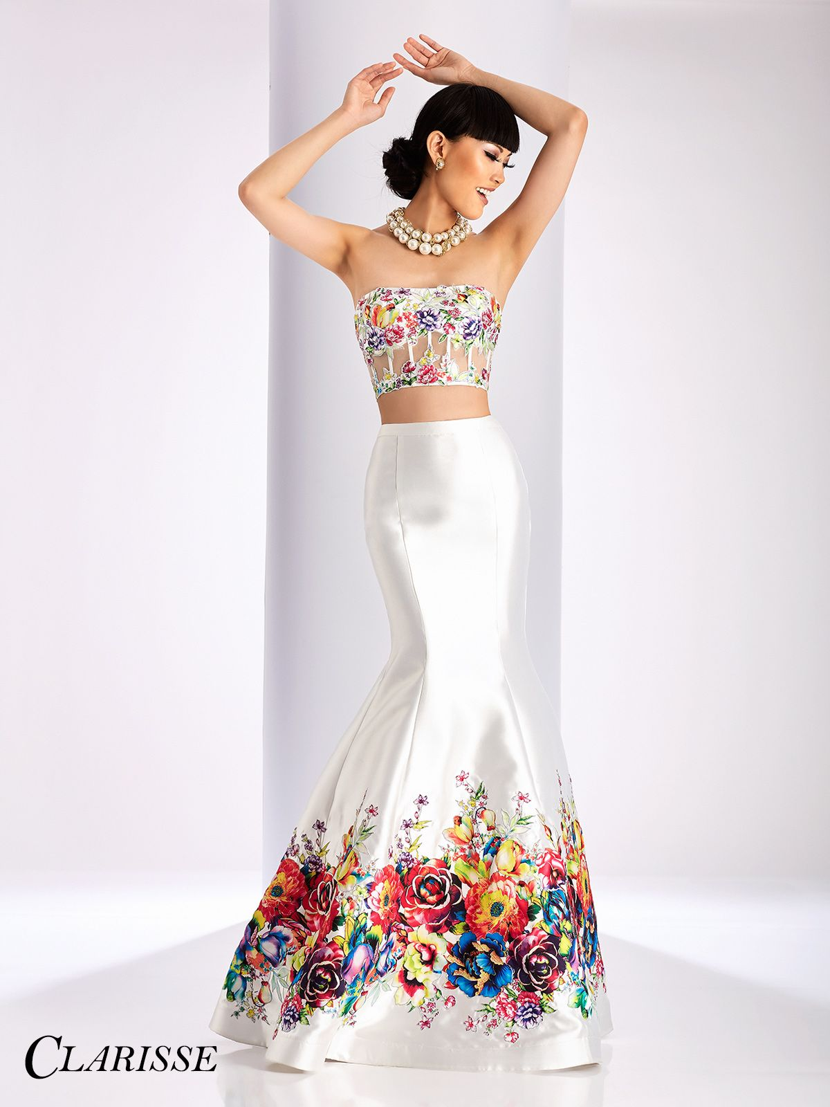 Pin by Clarisse Designs on Mermaid and Trumpet Prom Dresses