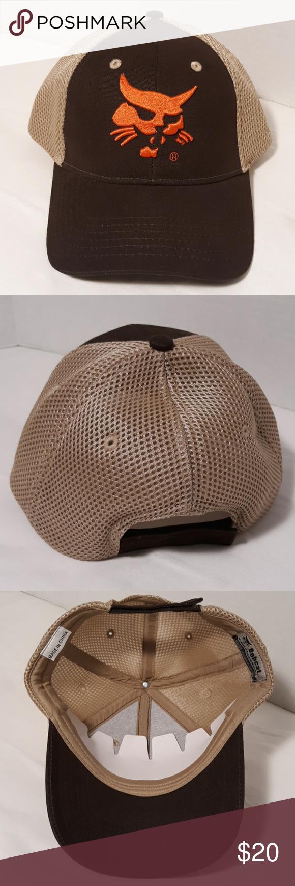 20 Bobcat Trucker Hat Brand New Embroidered In 2020 Trucker Hat Hats Brand New