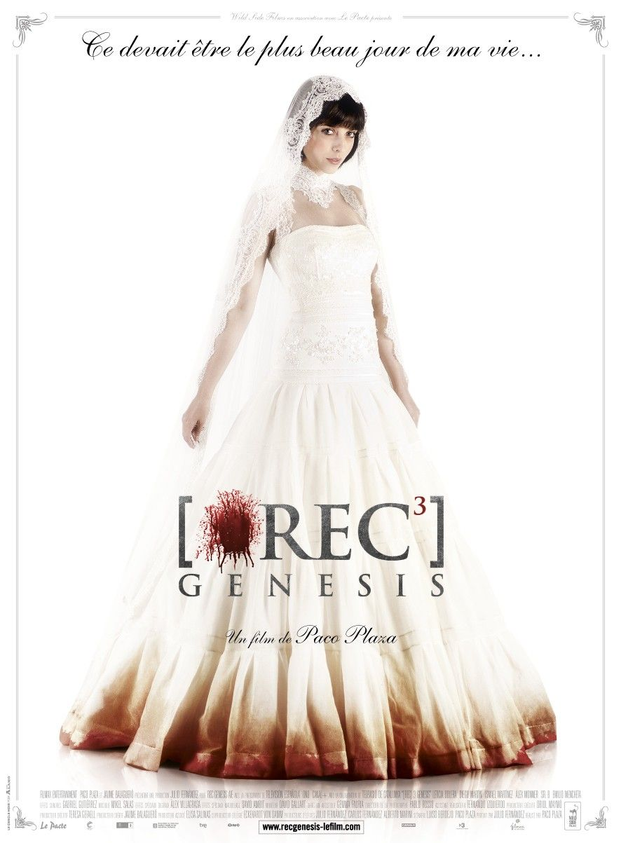 This Is An Interesting Poster Very Feminine With The Right Amount Of Gore Rec3 Genesis Bride Ball Gowns Princess Full Movies Online Free