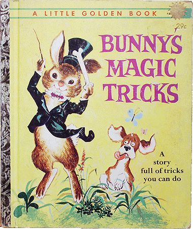 1962 lgb bunnys magic tricks a story full of tricks you can do - Coloring Book Magic Trick