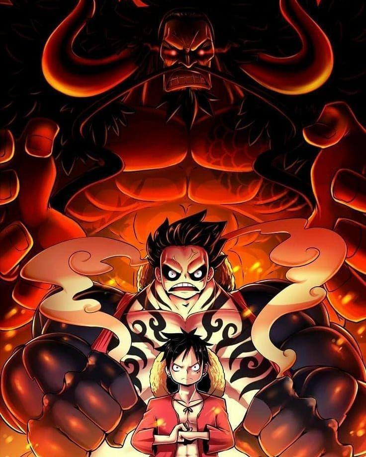 Bersiap mengalahkan Kaido dengan kekuatan penuh
