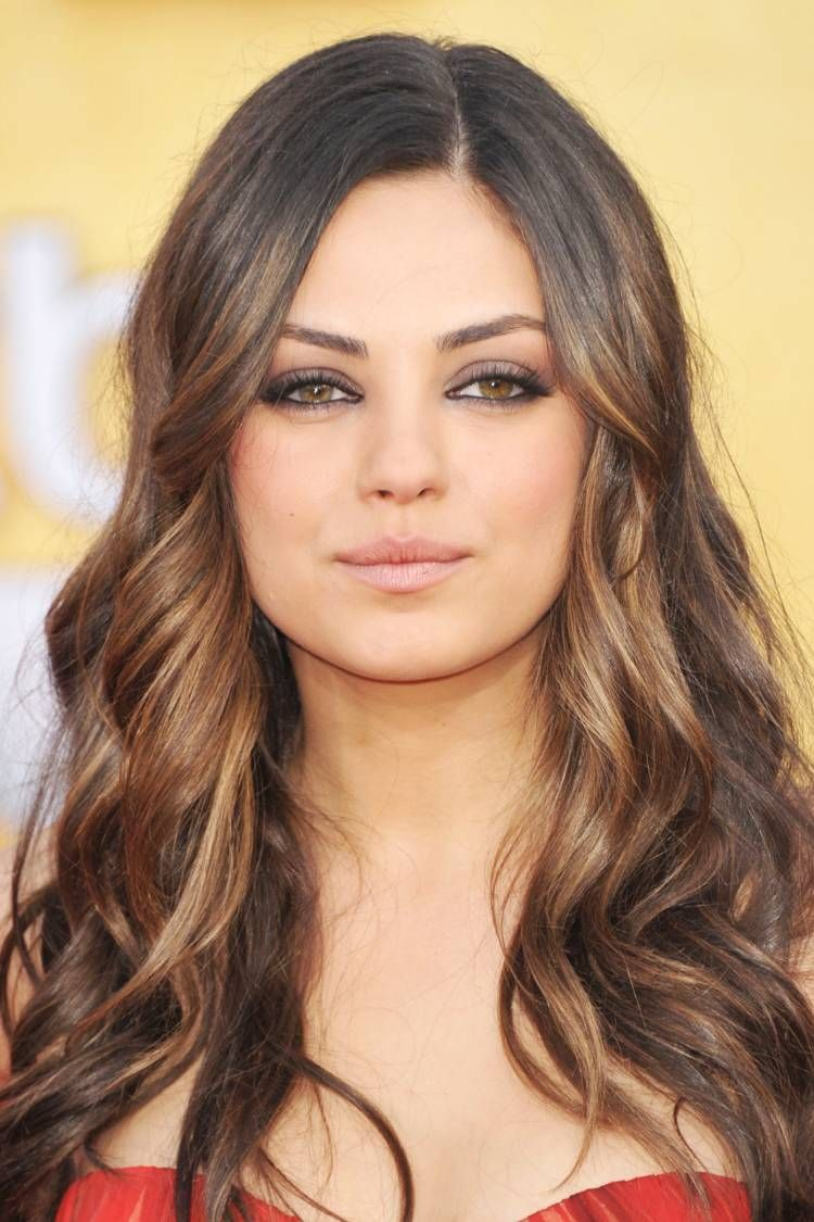 The Best Hair Colors For Olive Skin From Caramel To Mocha In 2020 Skin Tone Hair Color Olive Skin Hair Brown Hair Olive Skin
