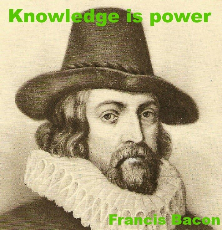 Knowledge Is Power Francis Bacon Quotes Francisbacon