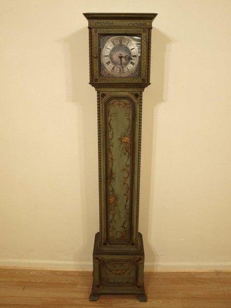 Antique Polychrome Grandmother Clock (1933 England)