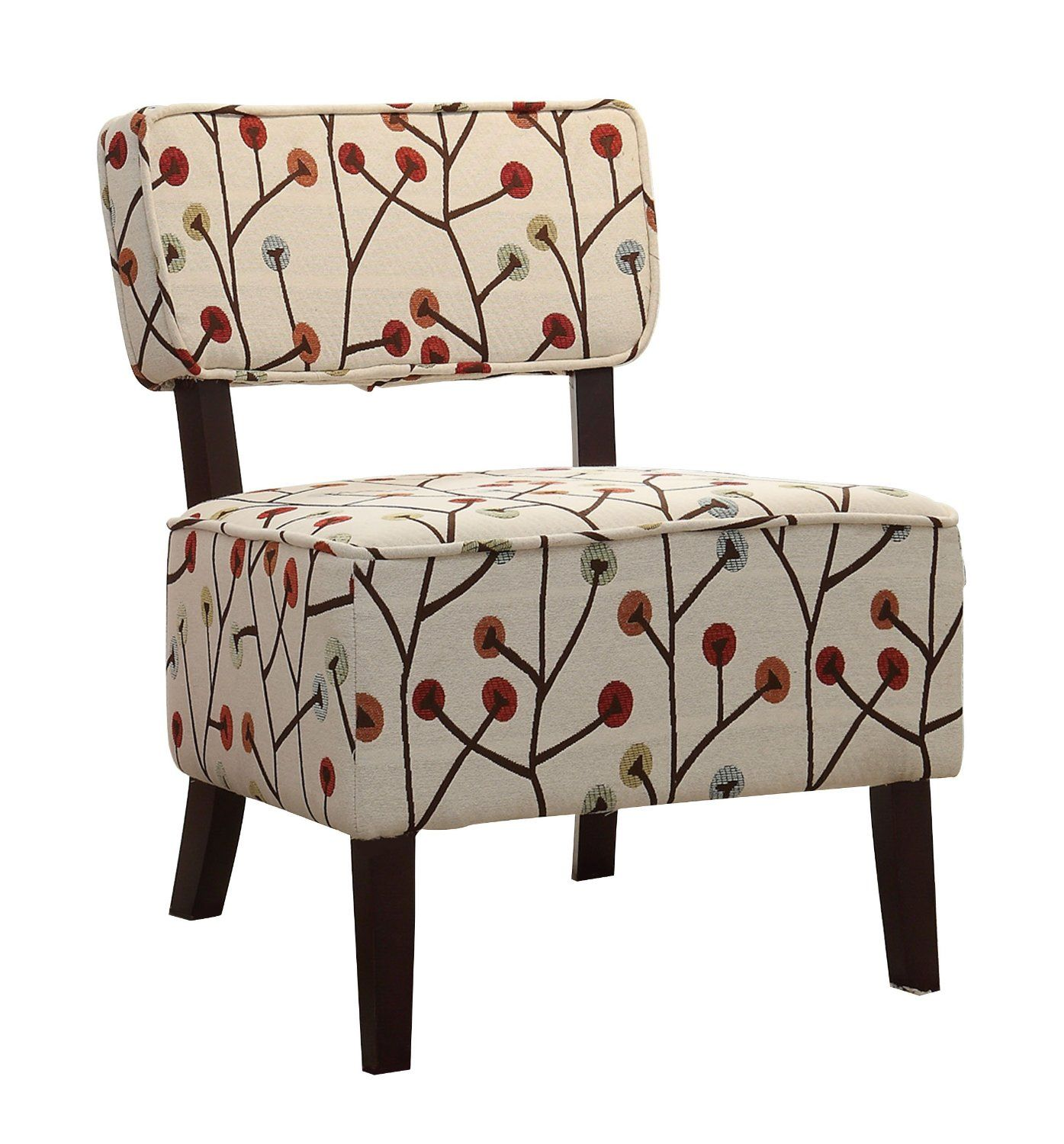 Homelegance 1191F5S Armless Accent Chair