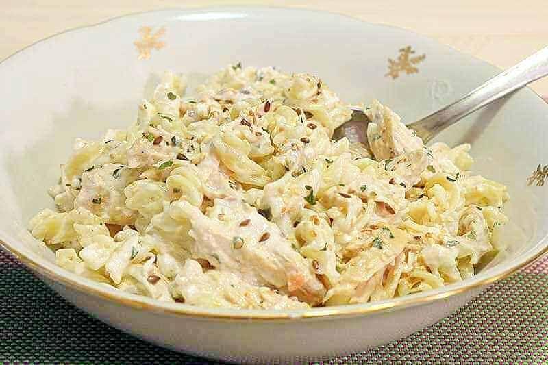 Salata od piletine sa makaronama