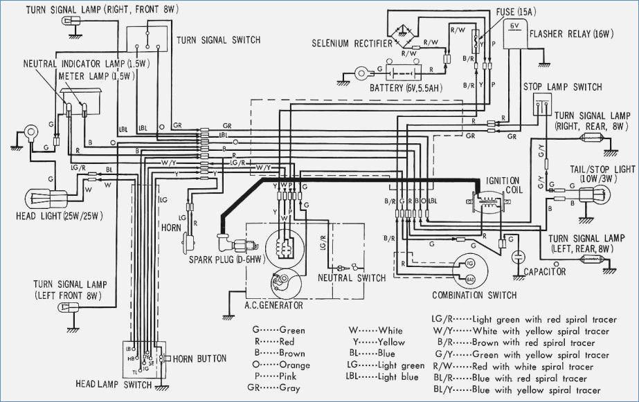 Honda Super Cub Wiring Diagram • Wiring Diagram For Free