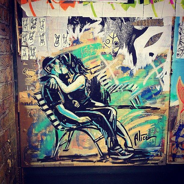 London Street Art - Alice